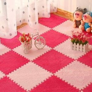 10Pcs Lot Children s Rug Soft Plush Baby Play Mat Toys Eva Foam Kids Rug Puzzle Innrech Market.com