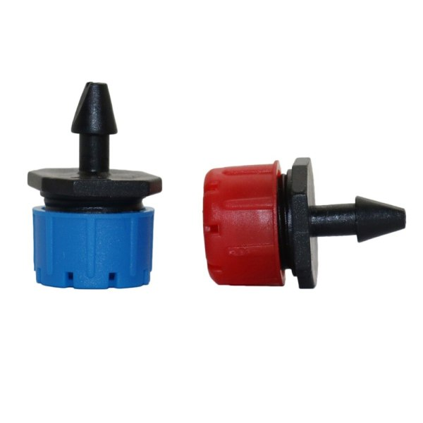 25 Pcs 8 hole Garden Irrigation Misting Micro Flow Dripper Drip Head 1 4 Hose Drip 2 25 Pcs 8 hole Garden Irrigation Misting Micro Flow Dripper Drip Head 1/4'' Hose Drip irrigation system Watering