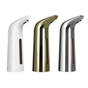 400ML Hand Free Home Refillable Soap Container Electric Automatic Liquid Soap Dispenser Smart Sensor Touchless Sanitizer Innrech Market.com