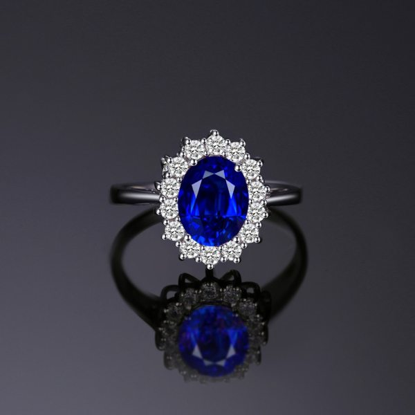 JewPalace Princess Diana Created Sapphire Ring 925 Sterling Silver Rings for Women Engagement Ring Silver 925 1 JewPalace Princess Diana Created Sapphire Ring 925 Sterling Silver Rings for Women Engagement Ring Silver 925 Gemstones Jewelry