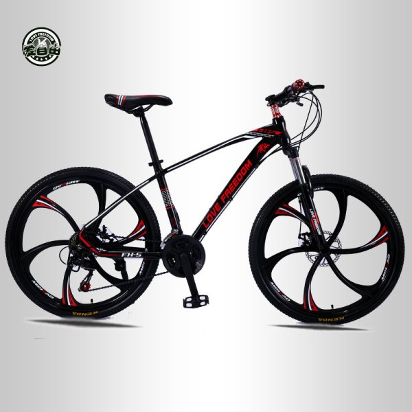 Love Freedom 21 speed 26 inch mountain bike bicycles double disc brakes student bike Bicicleta road Love Freedom 21 speed 26 inch mountain bike bicycles double disc brakes student bike Bicicleta road bike Free Delivery