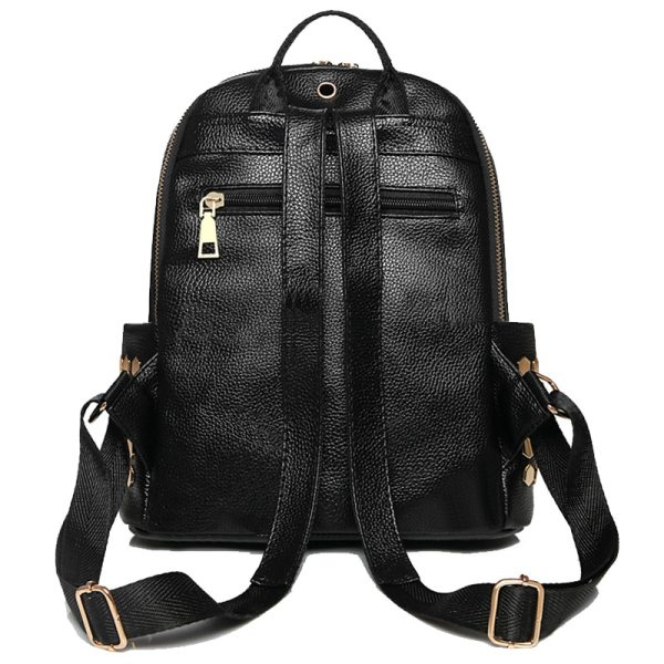 Luxury Famous Brand Designer Women PU Leather Backpack Female Casual Shoulders Bag Teenager School Bag Fashion 2 Luxury Famous Brand Designer Women PU Leather Backpack Female Casual Shoulders Bag Teenager School Bag Fashion Women's Bags