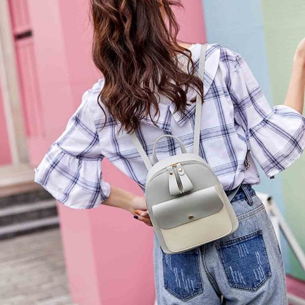 New Designer Fashion Women Backpack Mini Soft Touch Multi Function Small Backpack Female Ladies Shoulder Bag 1 New Designer Fashion Women Backpack Mini Soft Touch Multi-Function Small Backpack Female Ladies Shoulder Bag Girl Purse #YY
