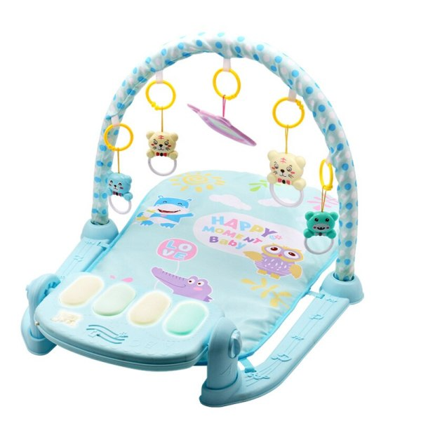 Play Mat Baby Gym Toys Gaming Carpet 0 12 Months Soft Lighting Rattles Children s Music 2 Play Mat Baby Gym Toys Gaming Carpet 0-12 Months Soft Lighting Rattles Children's Music Mat Blue Pink Baby Gifts Educational Toy