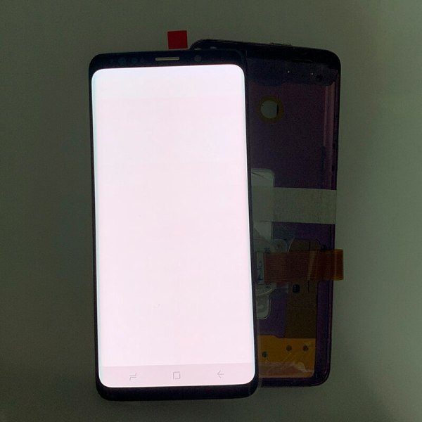 SUPER AMOLED has the Burn Shadow LCD with Frame for SAMSUNG Galaxy S9 G960 S9 Plus 3 SUPER AMOLED has the Burn-Shadow LCD with Frame for SAMSUNG Galaxy S9 G960 S9 Plus G965 Touch Screen Digitizer Assembly