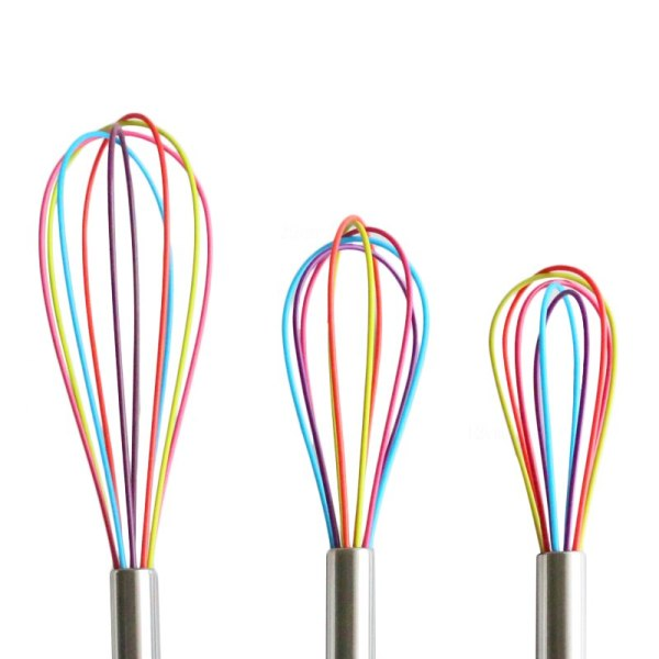Vieruodis 1pcs Drink Whisk Mixer Egg Beater Silicone Egg Beaters Kitchen Tools Hand Egg Mixer Cooking 5 Vieruodis 1pcs Drink Whisk Mixer Egg Beater Silicone Egg Beaters Kitchen Tools Hand Egg Mixer Cooking Foamer Wisk Cook Blender