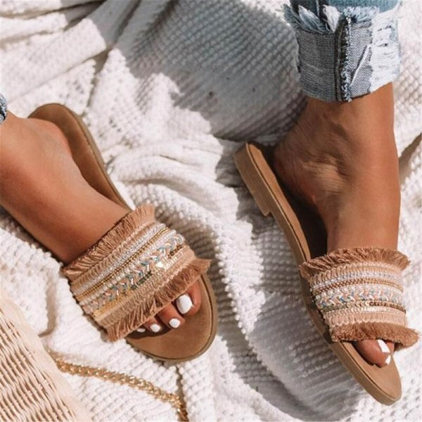 Women slippers 2019 summer new Rome Retro sandals flat casual shoes female slip on slides woman Women slippers 2019 summer new Rome Retro sandals flat casual shoes female slip on slides woman shoes plus size Sandalias mujer
