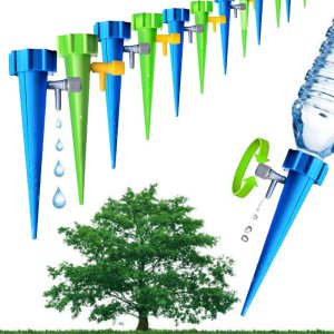 AISN 12pcs Automatic Watering Garden Supplies Irrigation Kits System Houseplant Spikes For Gardening Plant Potted Energy Innrech Market.com