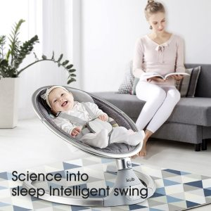 Baby electric rocking chair 2020 new baby cradle recliner baby sleep newborn comforting chair hair bionic Innrech Market.com