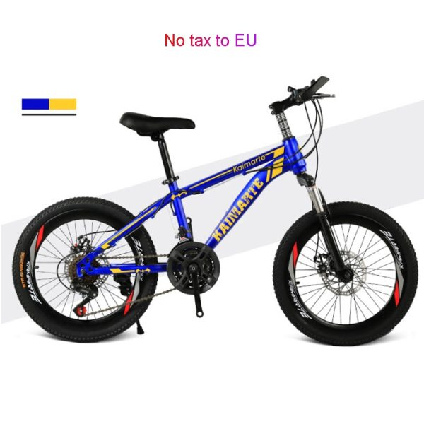 Children s bicycle 20inch 21 speed kids bike Children s variable speed mountain bike Two disc Children's bicycle 20inch 21 speed kids bike Children's variable speed mountain bike Two-disc brake bike various styles bicycle