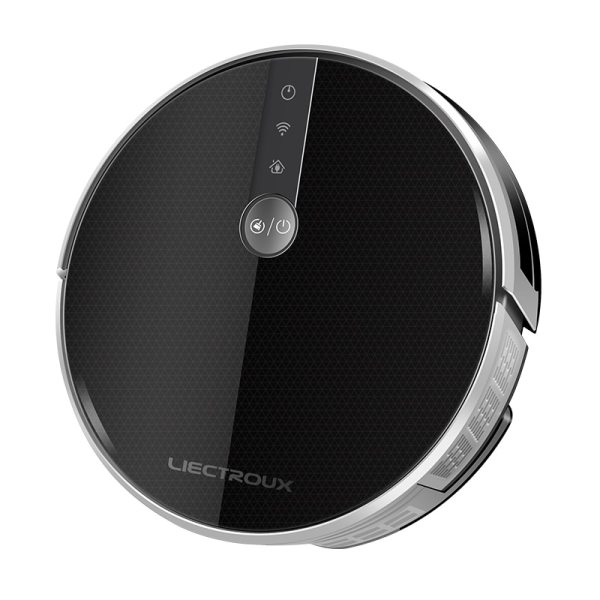 LIECTROUX C30B Robot Vacuum Cleaner Map navigation 3000Pa Suction Smart Memory Map Display on Wifi APP 1 LIECTROUX C30B Robot Vacuum Cleaner,Map navigation,3000Pa Suction, ,Smart Memory, Map Display on Wifi APP, Electric Water tank