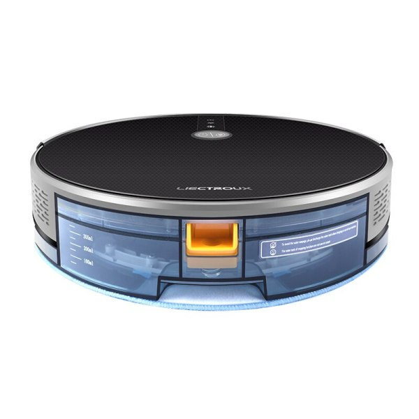 LIECTROUX C30B Robot Vacuum Cleaner Map navigation 3000Pa Suction Smart Memory Map Display on Wifi APP 4 LIECTROUX C30B Robot Vacuum Cleaner,Map navigation,3000Pa Suction, ,Smart Memory, Map Display on Wifi APP, Electric Water tank