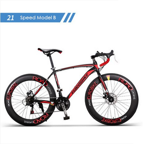 New brand carbon steel frame 700C wheel 21 27 speed disc brake road bike outdoor sport 3 New brand carbon steel frame 700C wheel 21/27 speed disc brake road bike outdoor sport cycling bicicletas racing bicycle