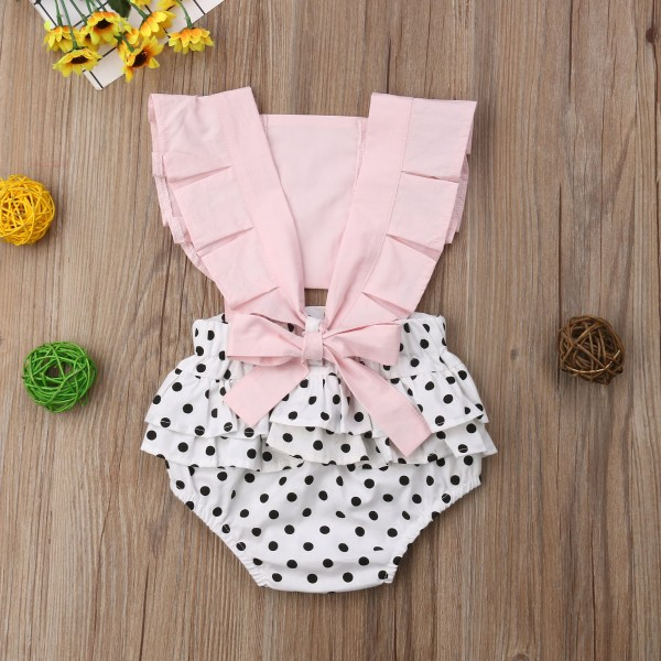 Newborn Infant Baby Girl Clothes Lace Splice Romper Backless Jumpsuit Outfit Sunsuit Baby Clothing 4 Newborn Infant Baby Girl Clothes Lace Splice Romper Backless Jumpsuit Outfit Sunsuit Baby Clothing
