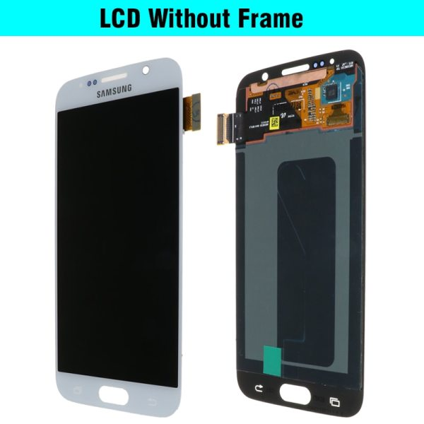 ORIGINAL 5 1 Super AMOLED Replacement LCD S6 for SAMSUNG GALAXY S6 G920 SM G920F G920F 3 ORIGINAL 5.1'' Super AMOLED Replacement LCD S6 for SAMSUNG GALAXY S6 G920 SM-G920F G920F G920FD Touch Screen Digitizer Assembly