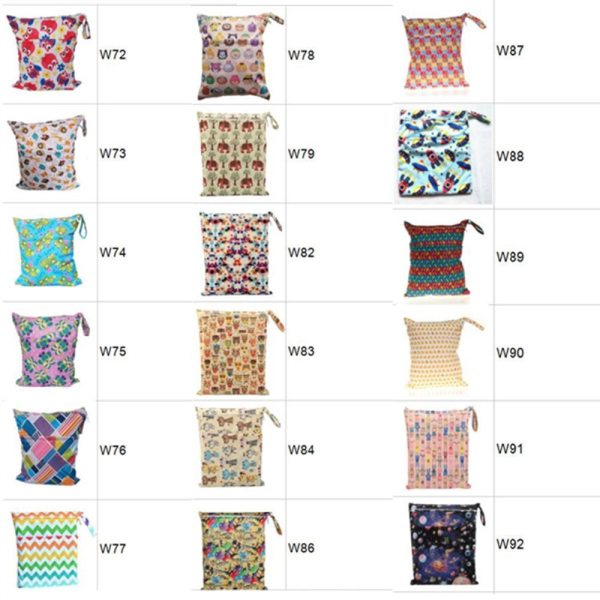 Sigzagor 1 Wet Dry Bag With Two Zippered Baby Diaper Nappy Bag Waterproof Swimmer Retail 2 [Sigzagor]1 Wet Dry Bag With Two Zippered Baby Diaper Nappy Bag Waterproof Swimmer Retail Wholesale 36cmx29cm 1000 Choices