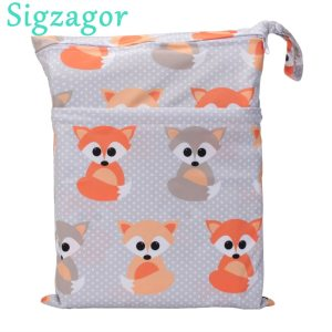 Sigzagor 1 Wet Dry Bag With Two Zippered Baby Diaper Nappy Bag Waterproof Swimmer Retail Innrech Market.com