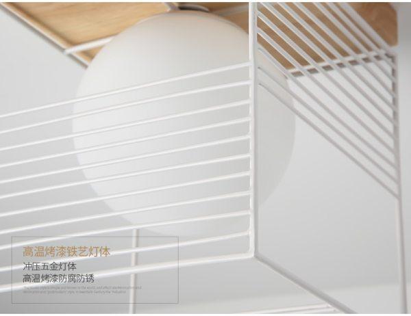 2019 New Nordic Indoor Wood Led Ceiling Light Fixture Luminaire Modern Iron Net Bedroom Corridor Hallway 3 Wooden Ceiling Light   Wood Flush Mount Light   New Nordic Indoor Wood Led Ceiling Light Fixture Luminaire Modern Iron Net, Bedroom Corridor Hallway Mount Lamp Aisle Decor Voltage 90-260V