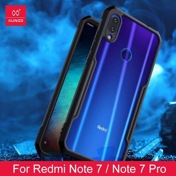 For Xiaomi Redmi Note 7 7 cc9 Pro Transparent Acrylic TPU XUNDD Phone case for For Xiaomi Redmi Note 7 7 cc9 Pro Transparent Acrylic+TPU XUNDD Phone case for xiaomi K20 Pro Mi 9T Pro Ring Protective cover
