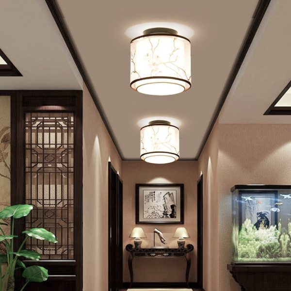 Hot 17 Types Chinese Style LED Light Ceiling E27 110V 220V Fabric Ceiling Lamp for Living 2 LED Ceiling Lights for Living Room | Living Room Ceiling Lights | Hot 17 Types Chinese Style LED Light Ceiling E27 110V 220V Fabric Ceiling Lamp for Living Room Aisle Balcony Porch