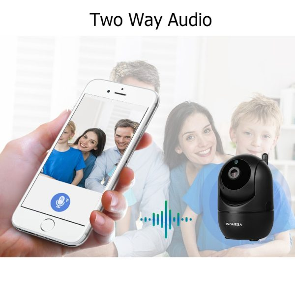 INQMEGA HD 1080P Cloud Wireless IP Camera Intelligent Auto Tracking Of Human Home Security Surveillance CCTV 2 INQMEGA HD 1080P Cloud Wireless IP Camera Intelligent Auto Tracking Of Human Home Security Surveillance CCTV Network Wifi Camera