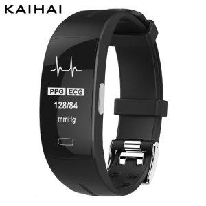 KAIHAI H66 blood pressure measurement band heart rate monitor PPG ECG smart bracelet watch Activity fitness Innrech Market.com