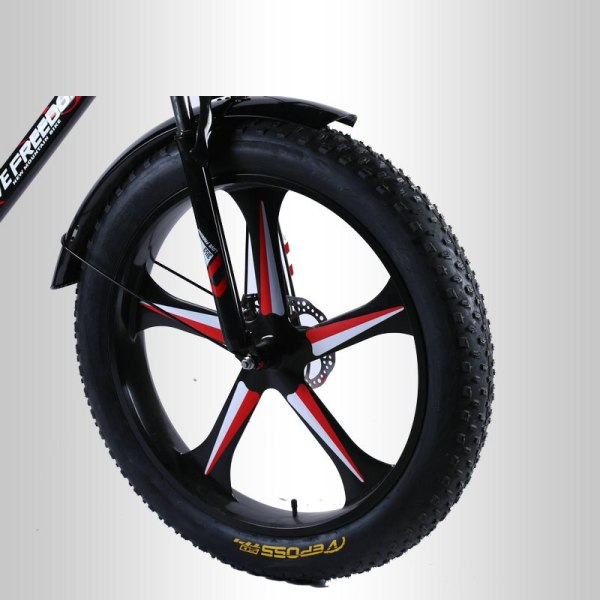Love Freedom High Quality Bicycle 7 21 24 27 Speed 26 4 0 Fat Bike Front 2 Love Freedom High Quality Bicycle 7/21/24/27 Speed 26*4.0 Fat Bike Front And Rear Shock Absorbers double disc brake Snow bike