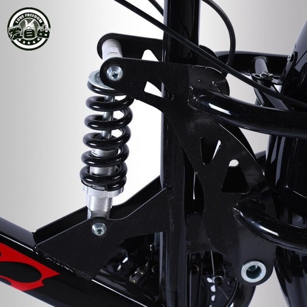 Love Freedom High Quality Bicycle 7 21 24 27 Speed 26 4 0 Fat Bike Front 3 Love Freedom High Quality Bicycle 7/21/24/27 Speed 26*4.0 Fat Bike Front And Rear Shock Absorbers double disc brake Snow bike