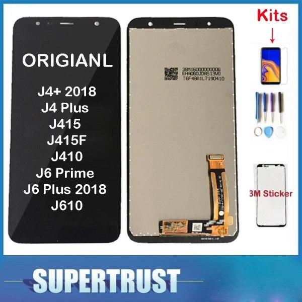 Original For Samsung Galaxy J4 2018 J4 Plus J415 J415F J410 J6 Prime J6 Plus 2018 Original For Samsung Galaxy J4+ 2018 J4 Plus J415 J415F J410 J6 Prime J6 Plus 2018 J610 LCD Display Touch Screen Sensor+ Kit