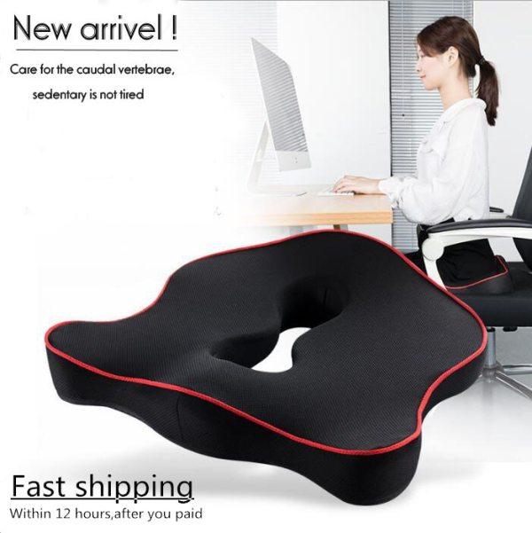 Premium Memory Foam Seat Cushion Coccyx Orthopedic Car Office Chair Cushion Pad for Tailbone Sciatica Lower Premium Memory Foam Seat Cushion Coccyx Orthopedic Car Office Chair Cushion Pad for Tailbone Sciatica Lower Back Pain Relief