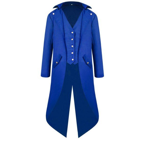 vintage Medieval Robe Cosplay Costume vintage men s trench Men s Coat Tailcoat Jacket Gothic Frock vintage Medieval Robe Cosplay Costume vintage men's trench Men's Coat Tailcoat Jacket Gothic Frock Coat Uniform Praty Outwear#g3