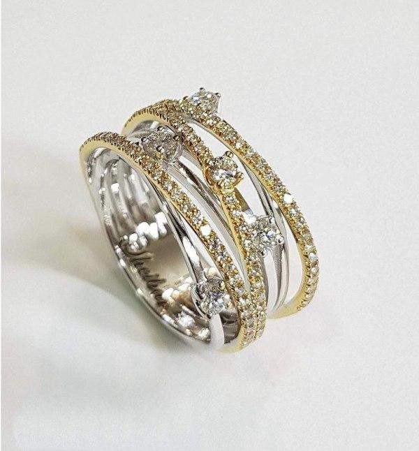 14K 3 Colors Gold Diamond Ring for Women Vintage Fashion Topaz Zircon Gemstone Bizuteria Anillos Sliver 2 14K 3 Colors Gold Diamond Ring for Women Vintage Fashion Topaz Zircon Gemstone Bizuteria Anillos Sliver Jewelry Engagement Ring