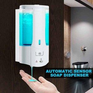 400Ml Automatic Liquid Soap Dispenser Smart Sensor Touchless ABS Electroplated Sanitizer Dispensador For Kitchen Bathroom Innrech Market.com