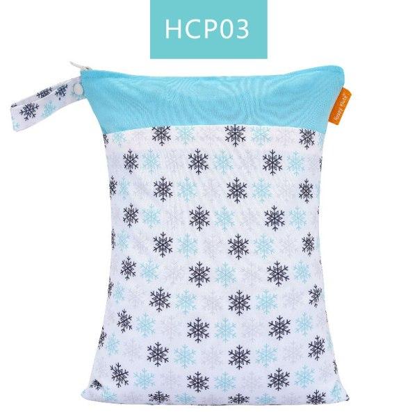 HappyFlute Baby Diaper Bags Double Zippered Wet Dry Bag Waterproof Wet Cloth Diaper Backpack Reusable Diaper 1 HappyFlute Baby Diaper Bags Double Zippered Wet/Dry Bag Waterproof Wet Cloth Diaper Backpack Reusable Diaper Cover WetBag