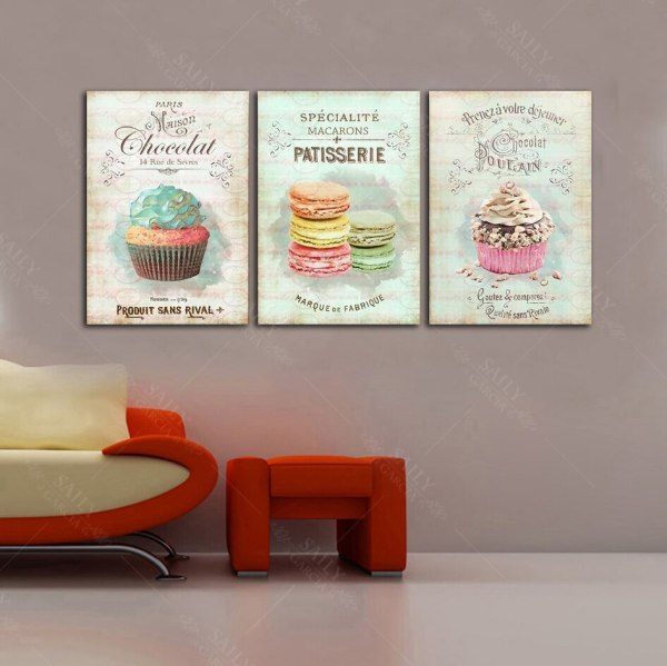 Nordic Decoration Home Posters Kitchen Restaurant Dessert Bread Canvas Painting Wall Art Picture For Living Room 2 Nordic Decoration Home Posters Kitchen Restaurant Dessert Bread Canvas Painting Wall Art Picture For Living Room Decor No Framed