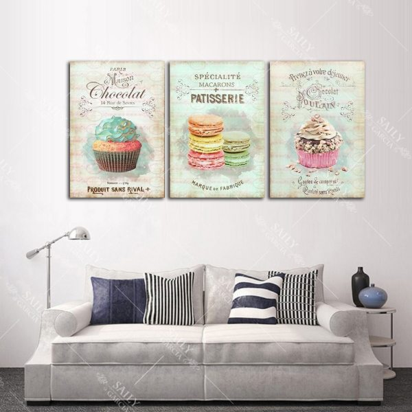 Nordic Decoration Home Posters Kitchen Restaurant Dessert Bread Canvas Painting Wall Art Picture For Living Room 3 Nordic Decoration Home Posters Kitchen Restaurant Dessert Bread Canvas Painting Wall Art Picture For Living Room Decor No Framed