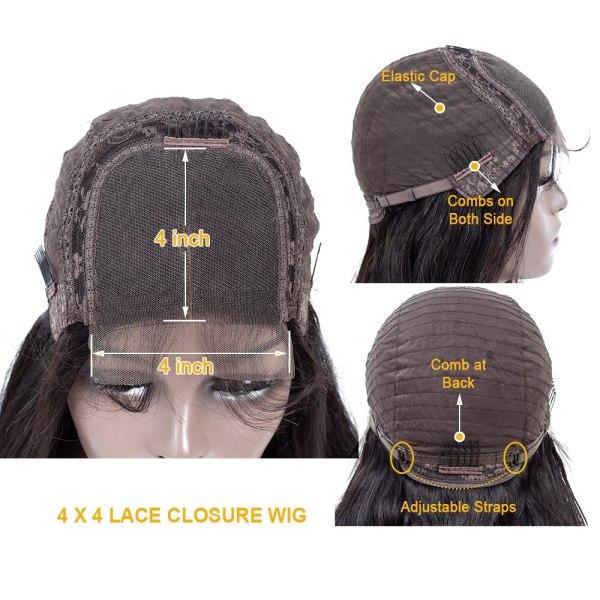 QT 4 4 Lace Closure Human Hair Wigs Brazilian Loose Deep Wave for Black Women Pre 1 QT 4*4 Lace Closure Human Hair Wigs Brazilian Loose Deep Wave for Black Women Pre-Plucked Lace Closure Human Hair Wig