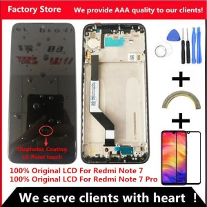 10 Touch Original LCD For Xiaomi Redmi Note 7 LCD With Frame Display Screen Replacement For Innrech Market.com
