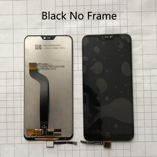 """5 84 AAA Quality LCD Frame For Xiaomi Mi A2 Lite LCD Display Touch Screen Digitizer 3 5.84"""" AAA Quality LCD+Frame For Xiaomi Mi A2 Lite LCD Display+Touch Screen Digitizer Assembly For Xiaomi Redmi 6 Pro LCD Replace"""