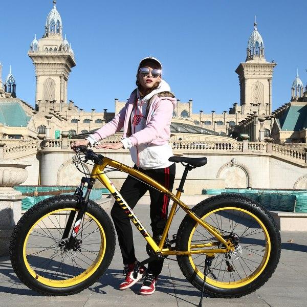 "KUBEEN Mountain Bike Aluminum Frame 21 Speed Shimano 26 Wheel 1 KUBEEN Mountain Bike Aluminum Frame 21 Speed Shimano 26"" Wheel"