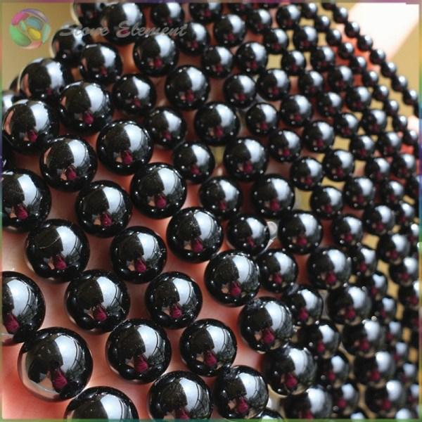 Natural Black Tourmaline Loose Round Beads 4mm 6mm 8mm 10mm 12mm 5 Natural Black Tourmaline Loose Round Beads 4mm,6mm,8mm,10mm,12mm