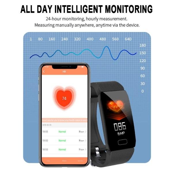 Smart Band Blood Pressure Q1 Heart Rate Monitor Fitness Tracker Smart Watch Fitness Bracelet Waterproof Weather 2 Smart Band Blood Pressure Q1 Heart Rate Monitor Fitness Tracker Smart Watch Fitness Bracelet Waterproof Weather Display Women
