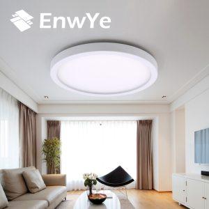 EnwYe 6W 9W 13W 18W 24W 36W 48W LED Circular Panel Light Surface Mounted led ceiling Innrech Market.com