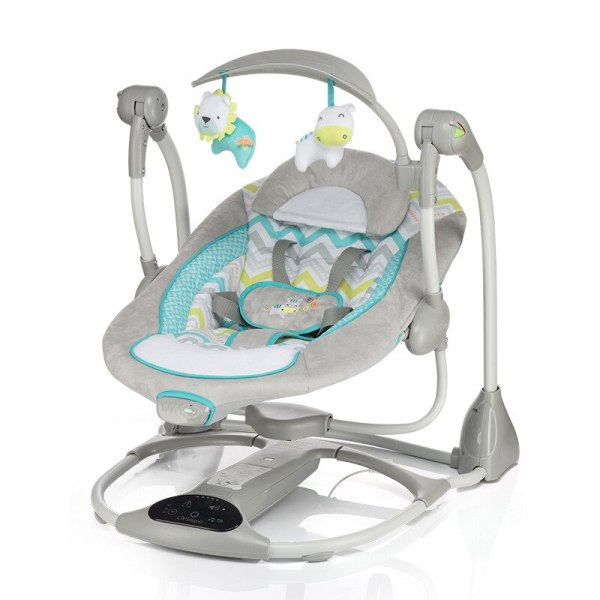 Multi function Baby Electric Swing USB Interface Baby Comfort Rocking Chair Cradle Baby Bouncer 1 Multi-function Baby Electric Swing USB Interface Baby Comfort Rocking Chair Cradle Baby Bouncer
