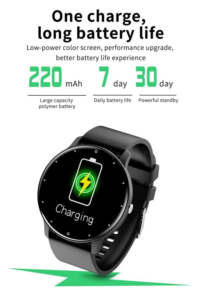 Smartwatch Longer Batteries.