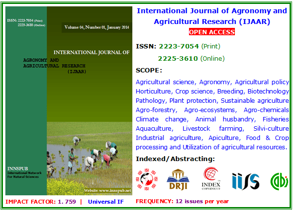 horticultural research journals