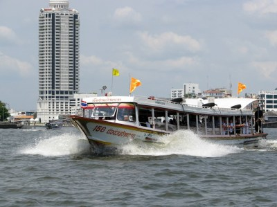 chao phraya - express boat - bangkok - thailandia