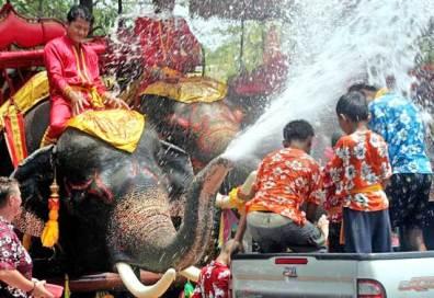 feste in thailandia - Songkran