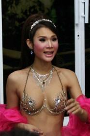 I Ladyboy sono magnifici ragazzi thailandesi. Un aspetto della cultura Thai antico di secoli.