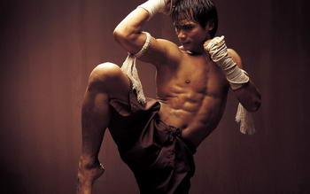 thai box - combattente thailandese